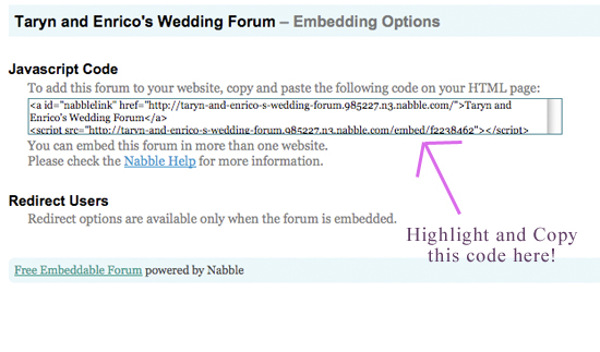 Step 3 - Grab embed code