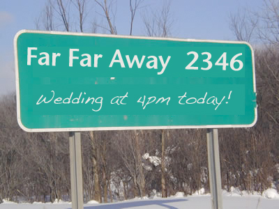 far away sign