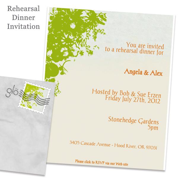 Rehearsal invite