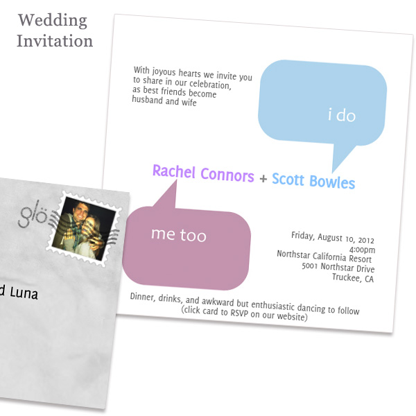 glovite online wedding invitation wording