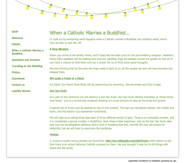 site | catholic and buddhist