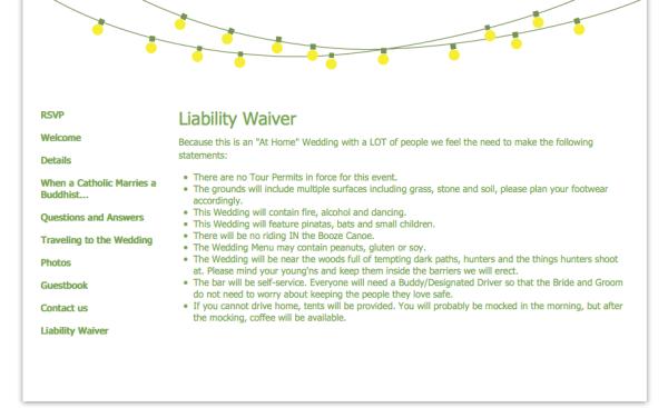 site | liability