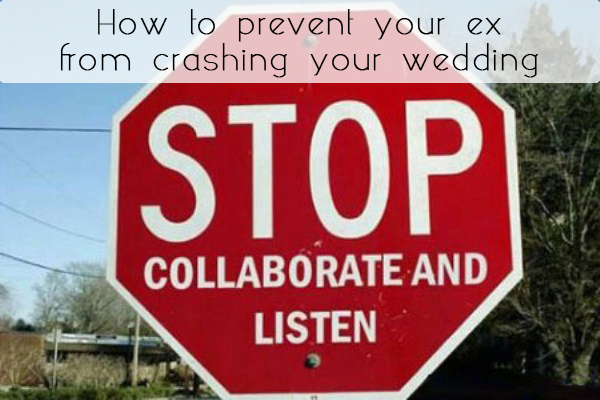 glosite prevent ex from crashing wedding