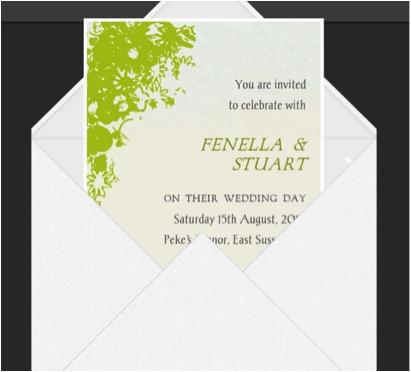 Glosite Wedding Invitation Wording Online