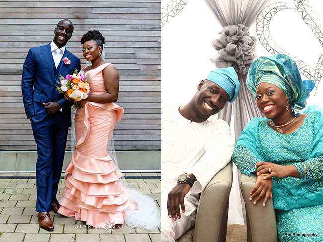 nigerian maryland wedding couple