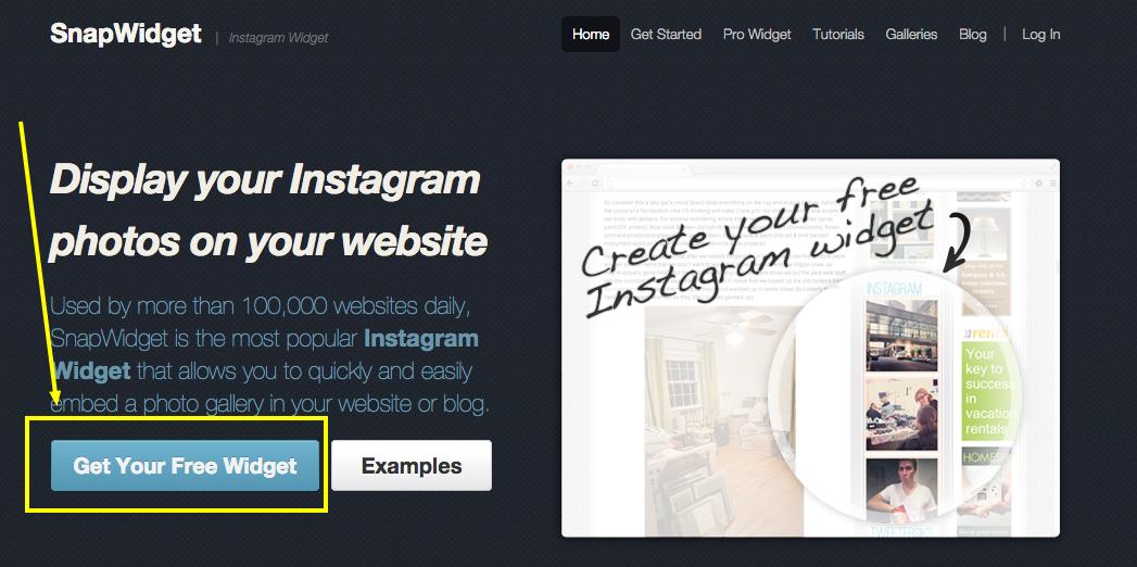 Add Instagram Feed to Website