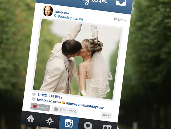 glosite how to add an instagram feed to wedding website