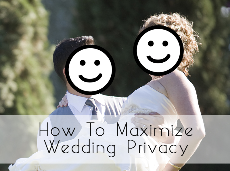 glosite wedding website privacy