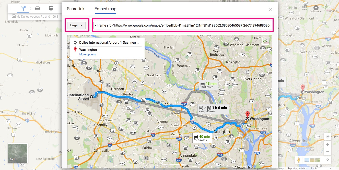 6 - customize google map glosite wedding website