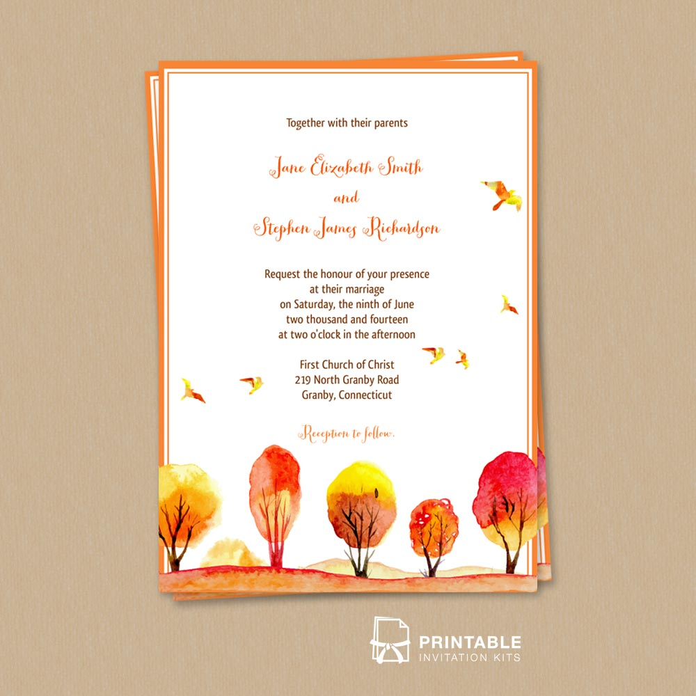 watercolor-autumn-scene-email wedding invitation